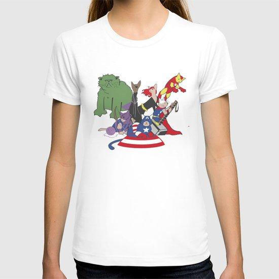 The Catvengers - Earth's Mightiest Kitties T-shirt