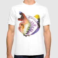 Search Mens Fitted Tee White SMALL