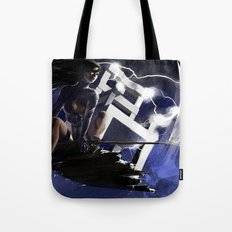 Ride the Lightning Tote Bag