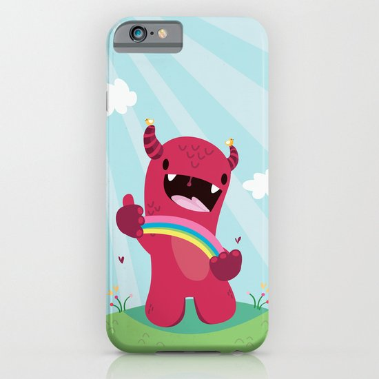 Nature monster iPhone & iPod Case