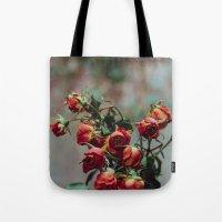 Windowsill Roses No. 1 Tote Bag