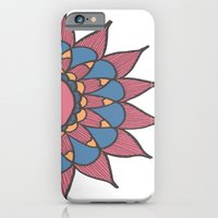 Abstract Sunflower iPhone 6 Slim Case