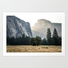 Yosemite Light  Art Print
