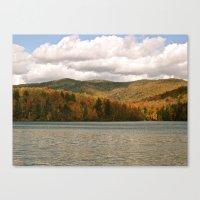 Vermont Lake Canvas Print