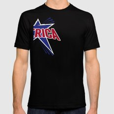 'Merica 2 Black Mens Fitted Tee SMALL