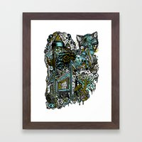 The Castle Of Doom and Sugar Framed Art Print