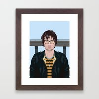 Graham Coxon Under the Westway Framed Art Print