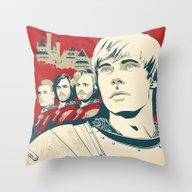 Join Camelot's Knights -… Throw Pillow