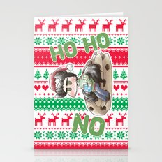 Christmas Seed Wolf Stationery Cards
