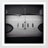 Vintage Ford Art Print