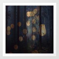 Illuminated Art Print