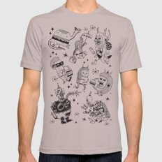 Frenemies Mens Fitted Tee Cinder SMALL