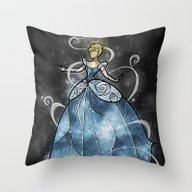 Throw Pillow featuring Bibbidi Bobbidi by Mandie Manzano