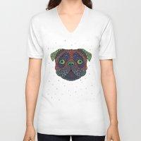 Intergalactic Dog Unisex V-Neck