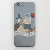 Sir Eats-A-Lot iPhone 6 Slim Case