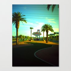 The Long & Winding Canvas Print
