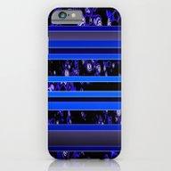 Organic Stripy (ultramar… iPhone 6 Slim Case
