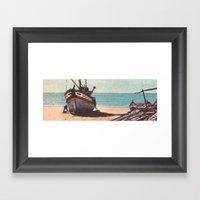 Shore Leave Framed Art Print