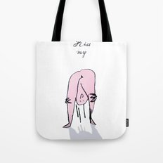 kiss my Tote Bag