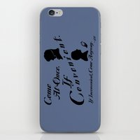 If Convenient iPhone & iPod Skin