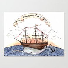 Float My Boat Canvas Print