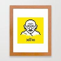 Ahimsa Framed Art Print
