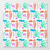 Pattern I Canvas Print