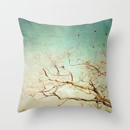 The Birds 2 Throw Pillow