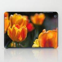 Tulips in the Garden iPad Case