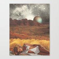 The Life And Death Of St… Canvas Print