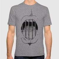Freedom of Expression 1 of 3 Mens Fitted Tee Athletic Grey SMALL