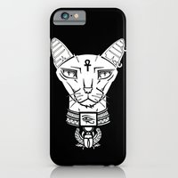 iPhone & iPod Case featuring Bastet by Murkwood