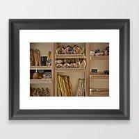La Boulangerie Framed Art Print
