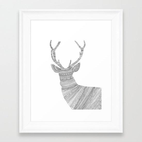 Stag / Deer Framed Art Print