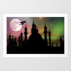 Fantasy World Art Print