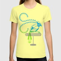 The Egotists (King Of Sa… Womens Fitted Tee Lemon SMALL
