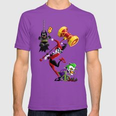 Harley Quinn Mens Fitted Tee Ultraviolet SMALL