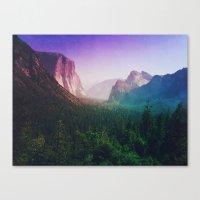 I'm Mountain Crazy Canvas Print