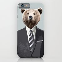 iPhone & iPod Case featuring Bear Suit by Chase Voorhees