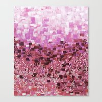 :: Pink Compote :: Canvas Print