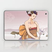 Koi Amongst The Lotuses  Laptop & iPad Skin