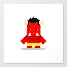 Oni of Hungry Oni Canvas Print