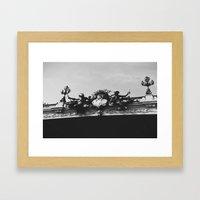 Seine Framed Art Print