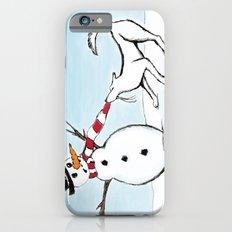 Canine Christmas (Snowman) iPhone 6 Slim Case
