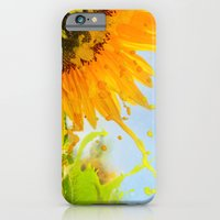 Splashing Sunflower iPhone 6 Slim Case