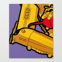 The secret life of heroes - cool oil Canvas Print