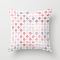 Pastel Fun Throw Pillow