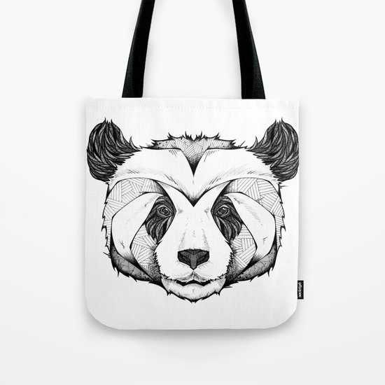 Panda Tote Bag