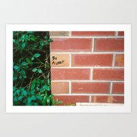 Junior School Graffiti Art Print