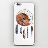 Fox Dreamcatcher iPhone & iPod Skin